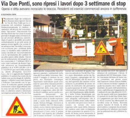 da-Zona-Cassia-Via-Due-Ponti-Ripresa-del-lavori-11-Maggio-2012