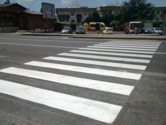 attraversamenti pedonali
