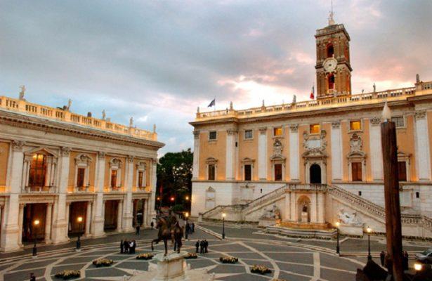 Piazza-del-Campidoglio-a-Roma